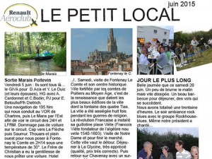 Le Petit Local de Juin 2015