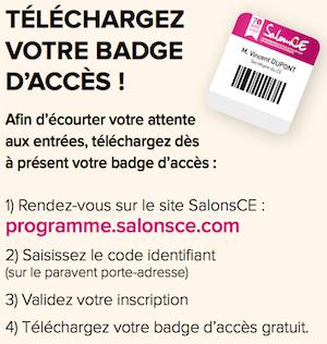 Badge salon CE 2015