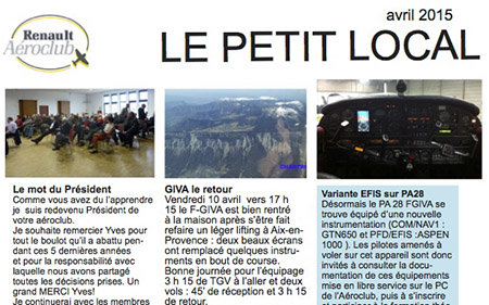 le petit local avril 2015 450
